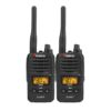 Uniden 80 Channels 2 Watt UHF Handheld Tradies Pack